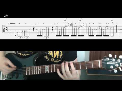 Metallica Fight Fire With Fire guitar solo tab & lesson