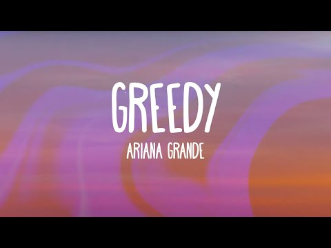Ariana Grande - Greedy (Audio Only)