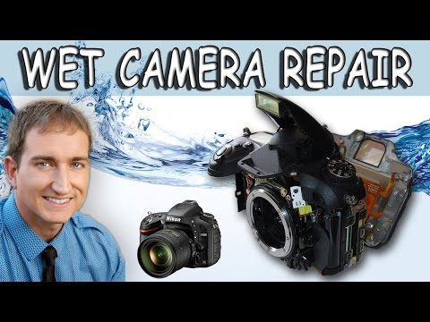 How to Repair and Save a Wet DSLR Camera