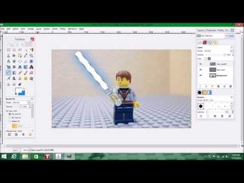 How to Make Lego Lightsabers Glow