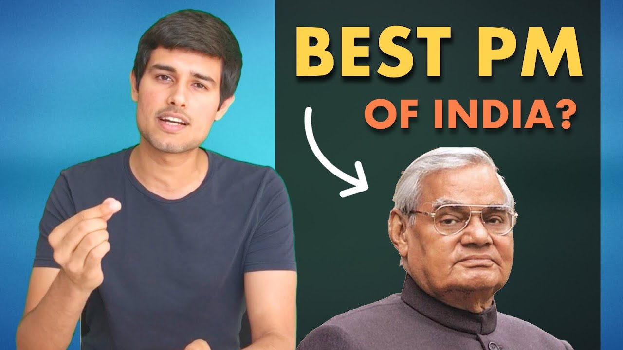 Atal Bihari Vajpayee: Best PM of India? | Analysis by Dhruv Rathee