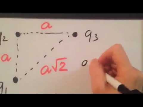 Physics Question: Find the magnitude of the net electrostatic force using Coulomb's Law