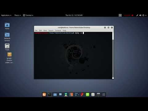 How to install Google Chrome in Kali Linux (in 2 Mins) 2017  Easy Method !