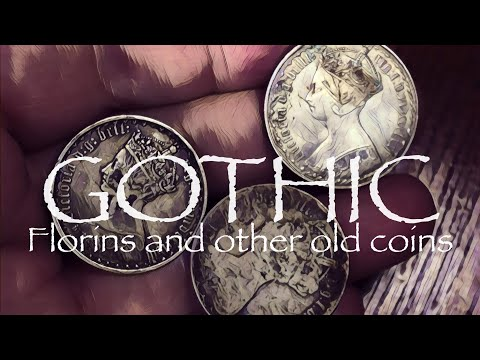 Some Gothic Florins, half crowns and Nice Old Junk Silver