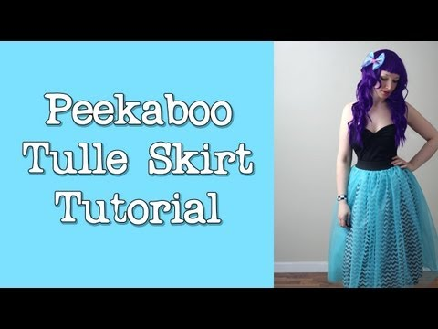 How To Sew A Formal Tulle Skirt - Sewing Tutorial