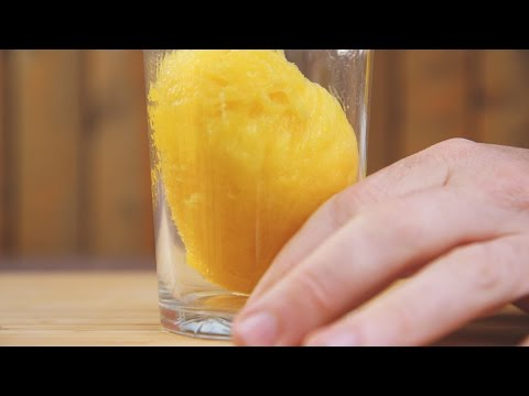 How To Peel A Mango In Seconds