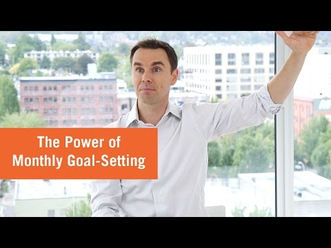 Power of Monthly Goals (How to Schedule Your Year)