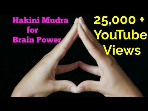 Hakini Mudra for Increasing Brain Power