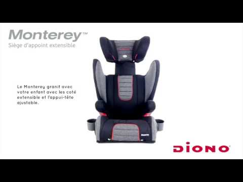 Diono Monterey Expandable Booster - Canada French