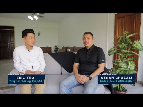 Singapore Client Testimonial For Property Agent Video - Aznan