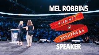 Mel Robbins Speaking at Summit of Greatness 2017 with Lewis Howes