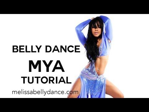 LEARN BELLY DANCE MYA   SLIDES   REVERSE TAQSIM TECHNIQUE TUTORIAL