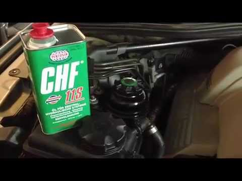 BMW Power Steering Fluid Replacement DIY