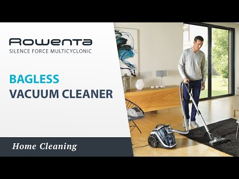 Silence Force Multicyclonic Bagless vacuum cleaner by Rowenta