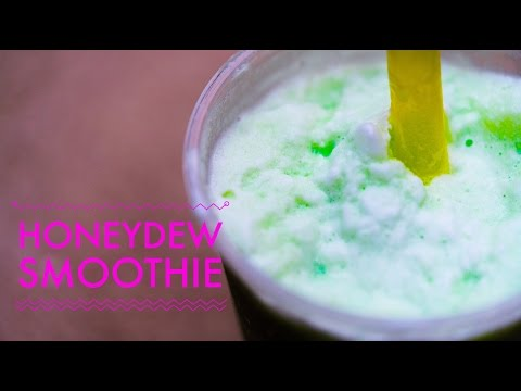 Honeydew Smoothie Bubble Tea from Bubble Tea Supply