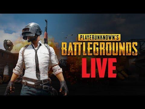 Player Unknown Battleground LIVE w/Friends