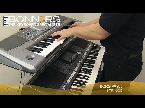 Korg PA900 vs Yamaha PSR S970 Demo Comparison - Yamaha Keyboard Psr