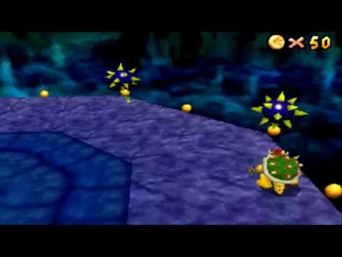 Super Mario 64 ds: First Bowser battle as Yoshi