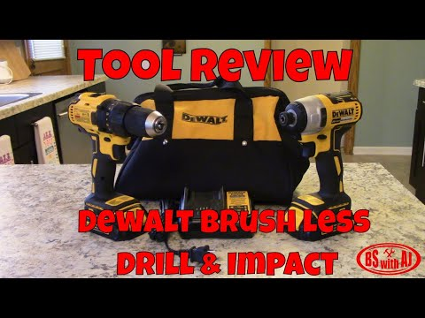 Product Review: Dewalt Brushless Drill and Impact set