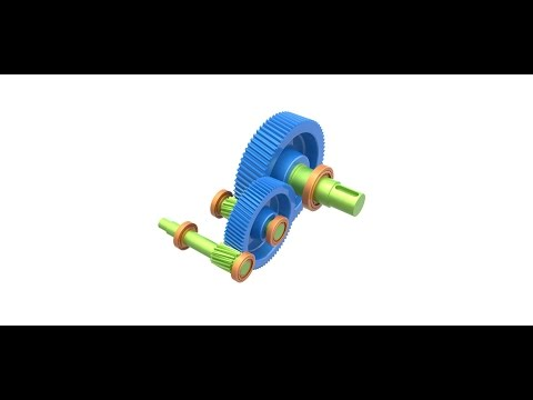 How to design Gearbox in Onshape