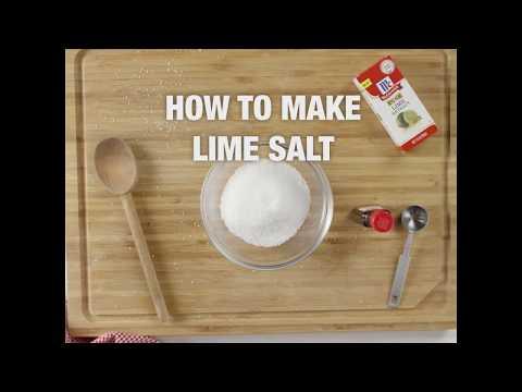 How to Make Lime Salt