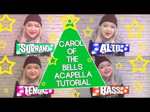 Christmas Acapella Tutorial - Carol of the Bells