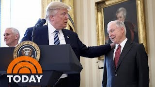 President Donald Trump Lashes Out At Jeff Sessions In Explosive New Interview | TODAY