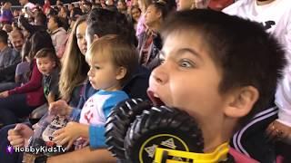 Giant MONSTER TRUCK Surprises! HobbyKids Go to World Finals 2018