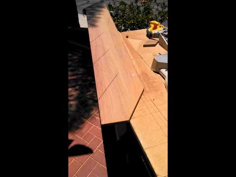 Mitering stair skirt boards part 3