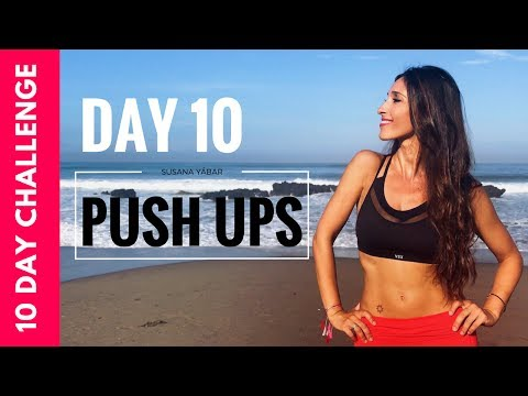 Toned Arms and Breast Lift in 10 days | Push up Challenge Day 10