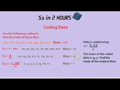 S1 in 2 Hours: Coding Data and Reversing Means