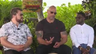 Jumanji Interview: Dwayne Johnson, Jack Black, Kevin Hart
