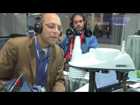 Davis Instruments @ CES 2016 | Into Tomorrow