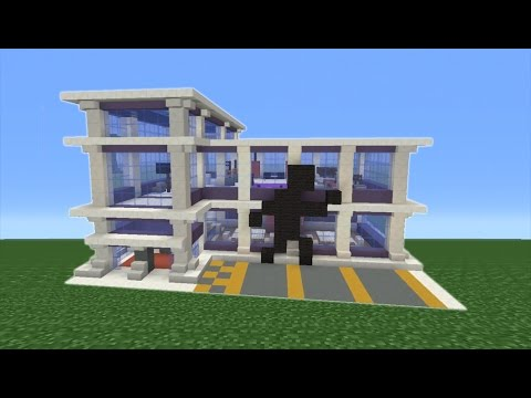 Minecraft Tutorial: How To Make A Gym Part 1 of 2