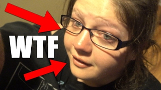 SHE WAS CRYING HYSTERICALLY!!