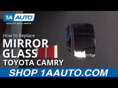How to Replace Install Mirror Glass 97-01 Toyota Camry