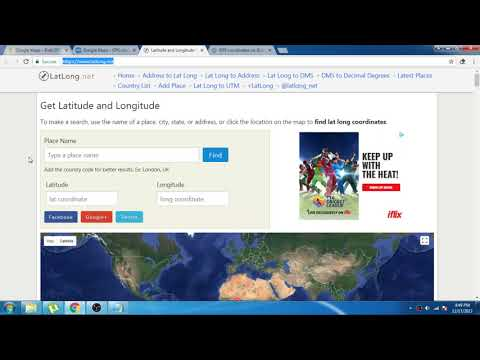 How to Find the Coordinates/Longitude/Latitude value from Google Map