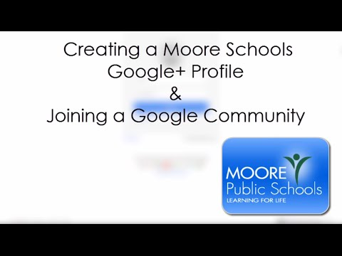 Google+ Profile and Communities