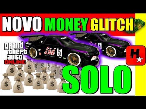 SOLO GTA 5 MONEY GLITCH DUPLICAR CARROS SOLO DINHEIRO INFINITO * CAR DUPLICATION GLITCH *WORKING*