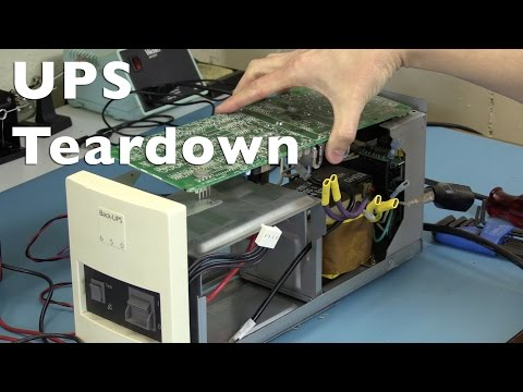 Uninterruptible power supply teardown