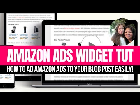 Amazon Ads  How To Ad Amazon Ads To Your Blog Post