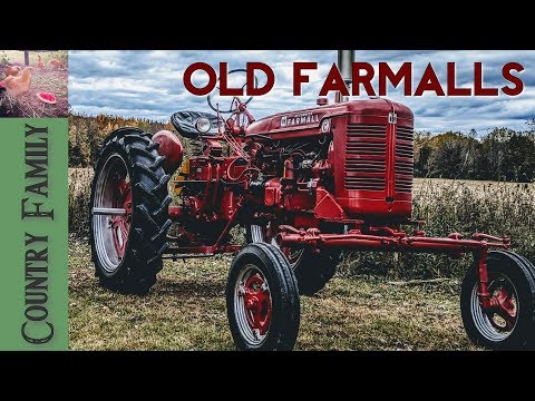 Farmall Family - A Couple of International Farmalls Plus a Bonus Tractor at the End