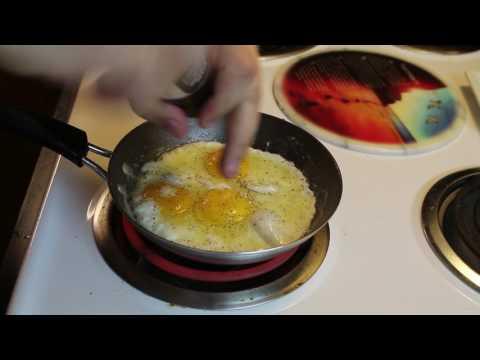 Let's Make An Egg Episode 24 - She's Hot For Flips, batter up MrJuliangross