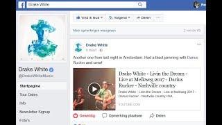 Darius Rucker ft. Drake White - Hold my hand - Live at Melkweg 2017 - Nashville country