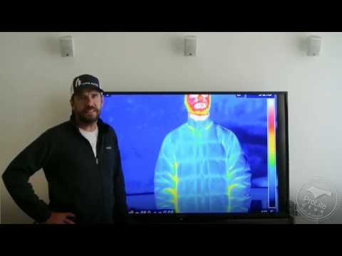 Lightweight Down Jacket Thermal Imaging Tests
