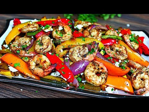 Balsamic Grilled Shrimp and Vegetables - Healthy Shrimp and Veggies Recipe