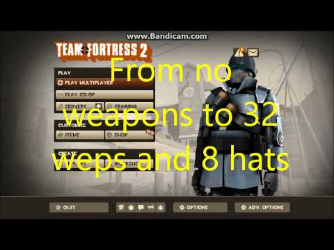How To Get Free Weapons And All Achivements On TF2 - Team Fortress 2 Tutorial