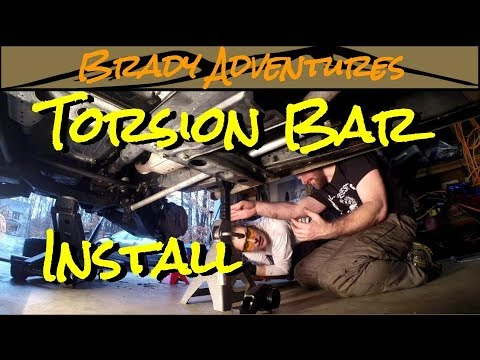 OME Torsion Bar Install - Land Cruiser 100 Series Overland Build