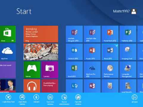 Windows 8: Quickly create desktop shortcuts
