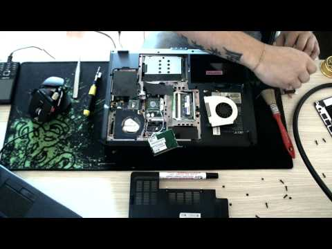 Disassembly Acer Aspire 5100